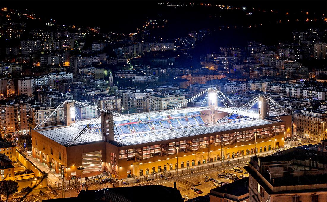 "Sajni e Zambetti s.r.l. | Stadio ""Luigi Ferraris"" - Genova"