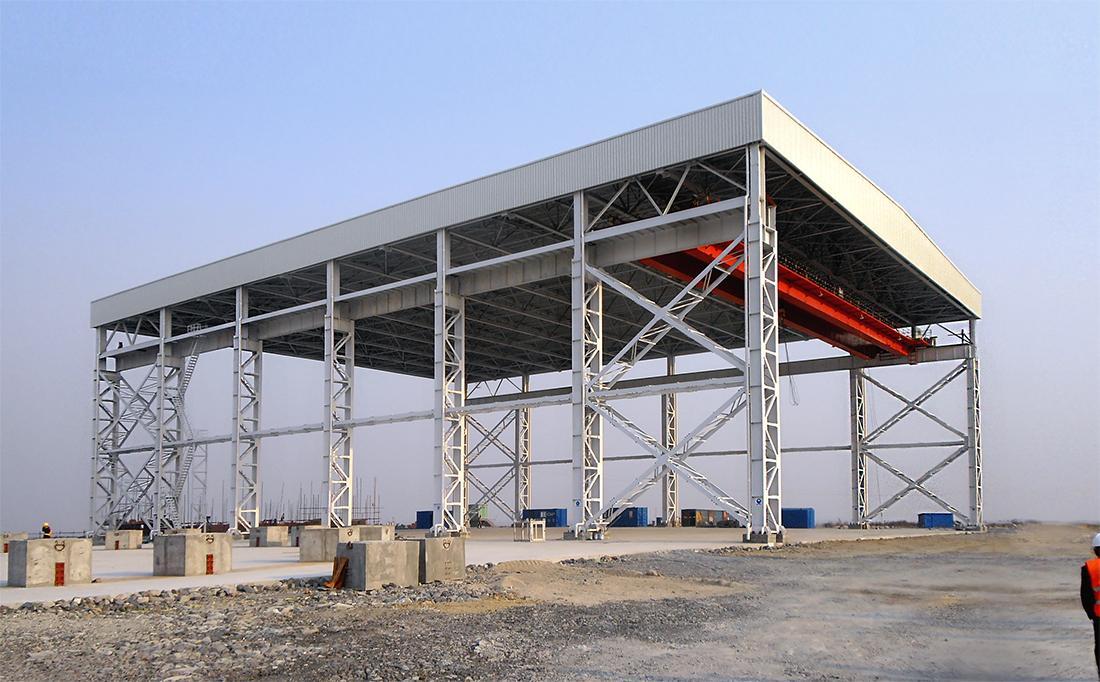 Sajni e Zambetti s.r.l. | Edificio Prefabbricazione Vessel Reattore - Sanmen (Cina)
