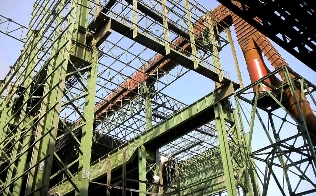Sajni e Zambetti s.r.l. | Ampliamento Acciaieria di Mobarakeh - Mobarakeh (Iran)