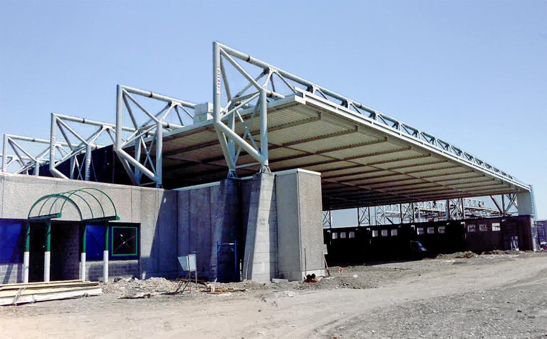 Sajni e Zambetti s.r.l. | Hangar A.T.A. Aeroporto Forlanini - Milano