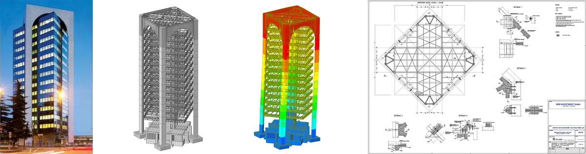 Sajni e Zambetti s.r.l. | Edificio Torre Quadra